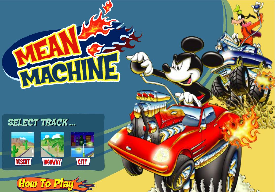 Mickey y sus amigos están listo para una carrera de carros donde tienes que manejar bien para poder esquivar, aprovecha las vueltas para poder rebasar a tus amigos y llegar de primer lugar.