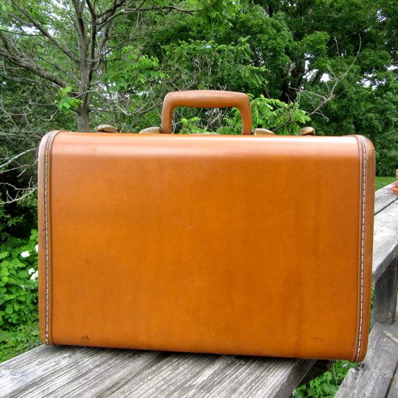 50s Samsonite Train Case Suitcase Leather Luggage Hard Etsy Maleta 50s Bolso