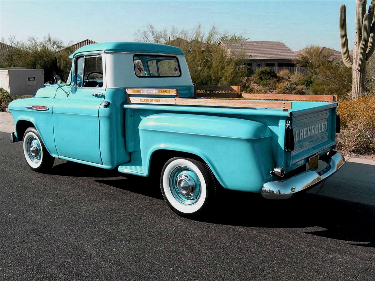 Old Chevy Truck >> Classic Pick Up Trucks Ash Tree Cottage Why Bloggers Need