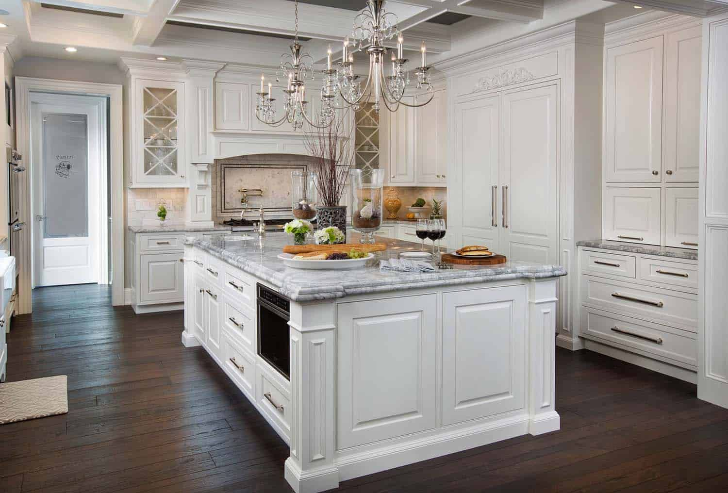 25 Breathtaking Carrara Marble Kitchens for your ...