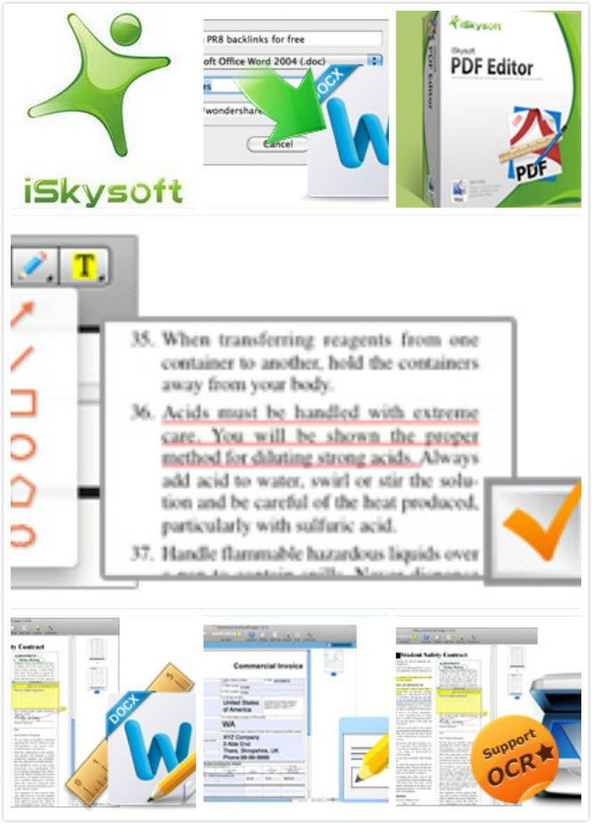 ISkysoft PDF Editor For Mac Has Everything You Need To Make Editing As Easy In A Word Processor This Comes With Powerful Tools