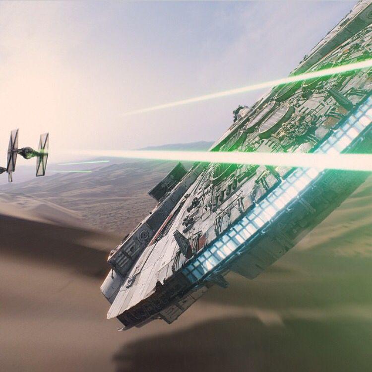 Millennium Falcon from #StarWars VII