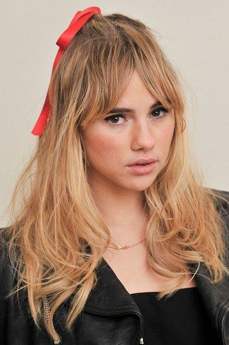 The Hottest Long Hairstyles & Haircuts For 2014 - Suki Waterhouse