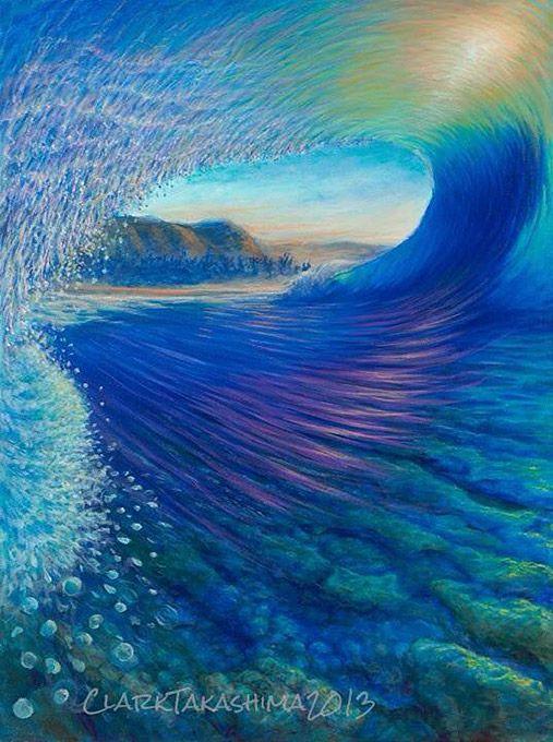 Clark Takashima | Wahiawa, Hawaii (RIP, 1963-2014) COTW Surf Artist