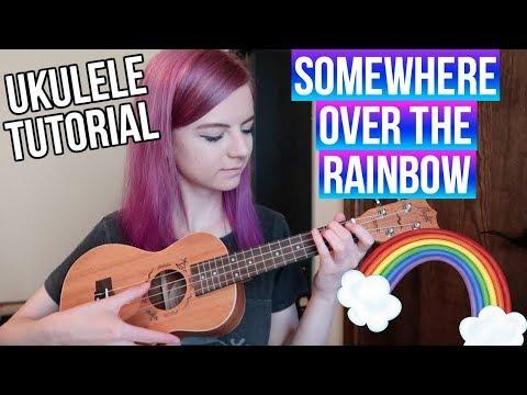 (575) Somewhere Over the Rainbow - IZ | EASY UKULELE ...