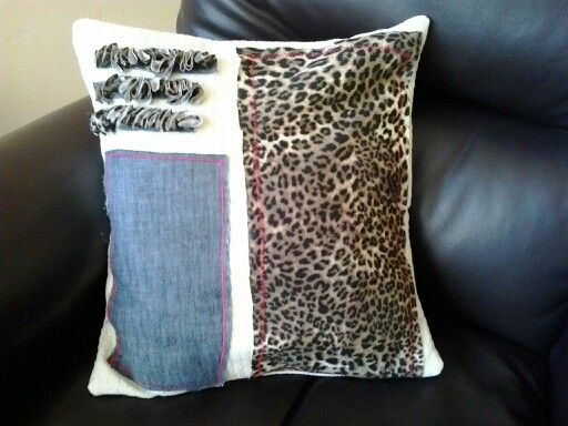 Cojin animal print