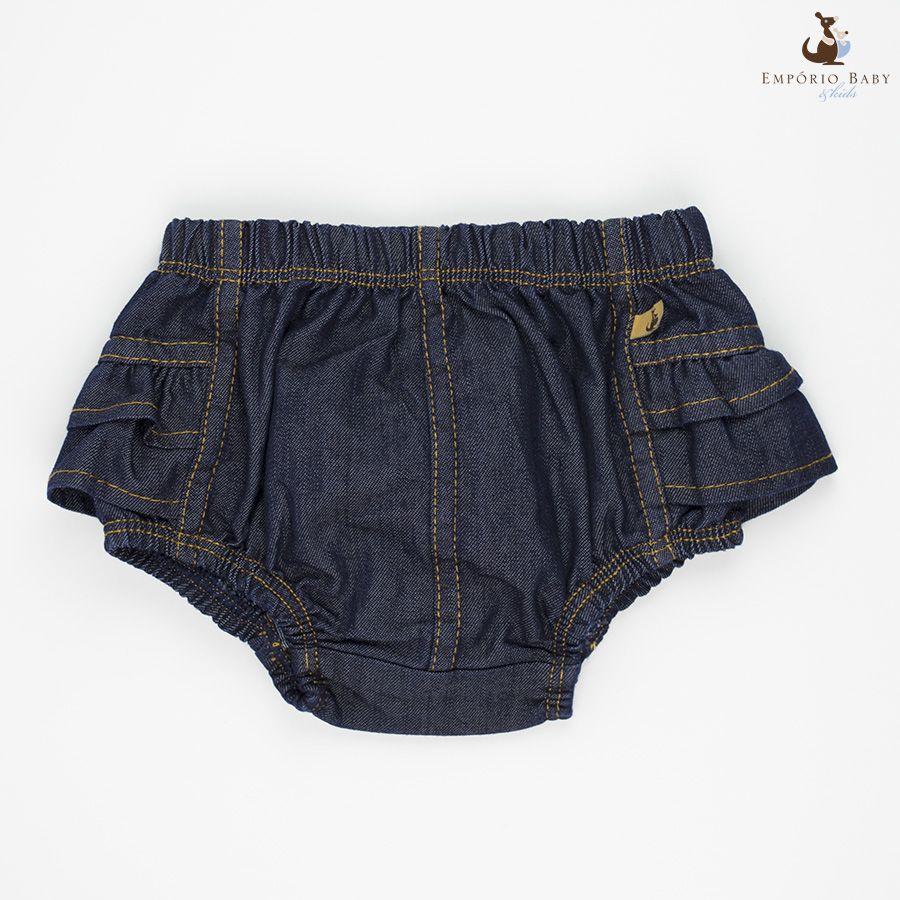 Pin do Dia para ajudar as meninas nessa onda de calor esse Tapa Fralda é perfeito! >> http://www.bkcloset.com.br/tapa-fralda-emporio-baby-jeans-bebe-feminino.html
