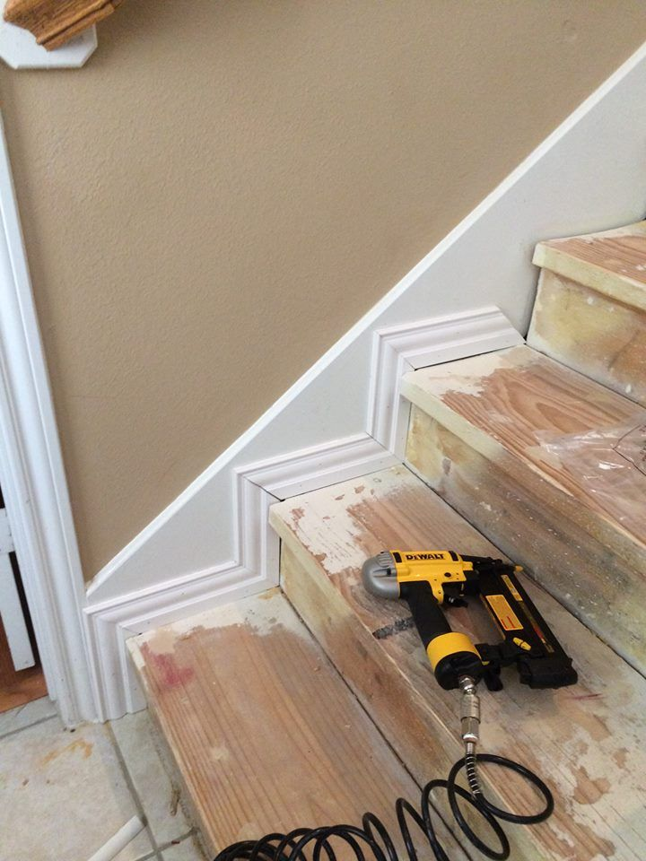DIY Nasty Carpeted Stairs Removal #staircaseideas