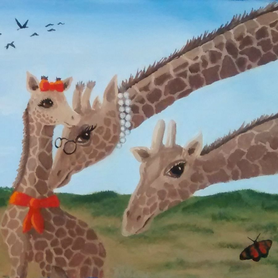 Here's another SNEAK PEEK at my upcoming children's book ...