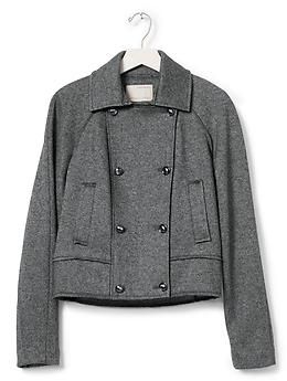 Heritage Cropped Double-Breasted Jacket