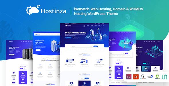 Hostinza V1 4 5 Isometric Domain Whmcs Web Hosting Wordpress