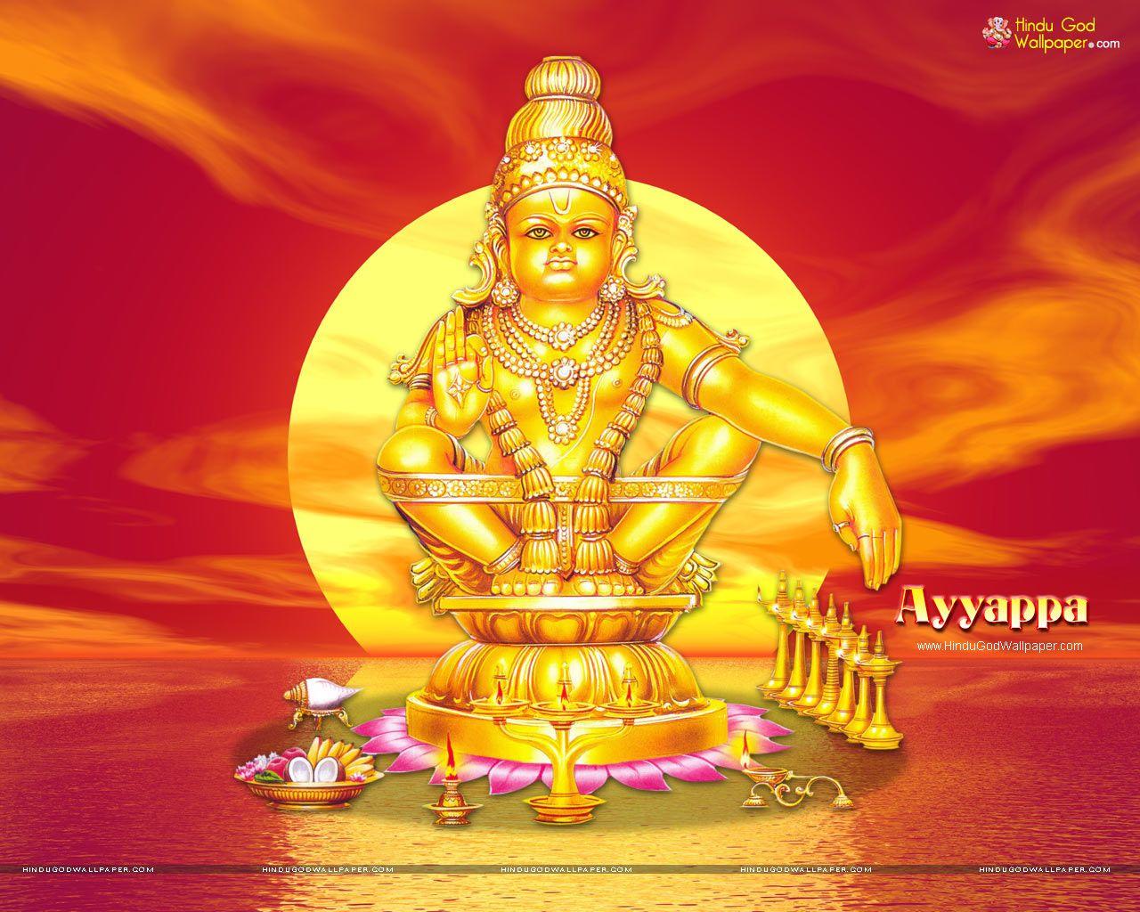 Lord Ayyappa Hd Wallpapers Lord Ayyappa Wallpapers Pinterest