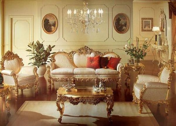 Living room in baroque style    BAROQUE                   Pinterest     Living room in baroque style
