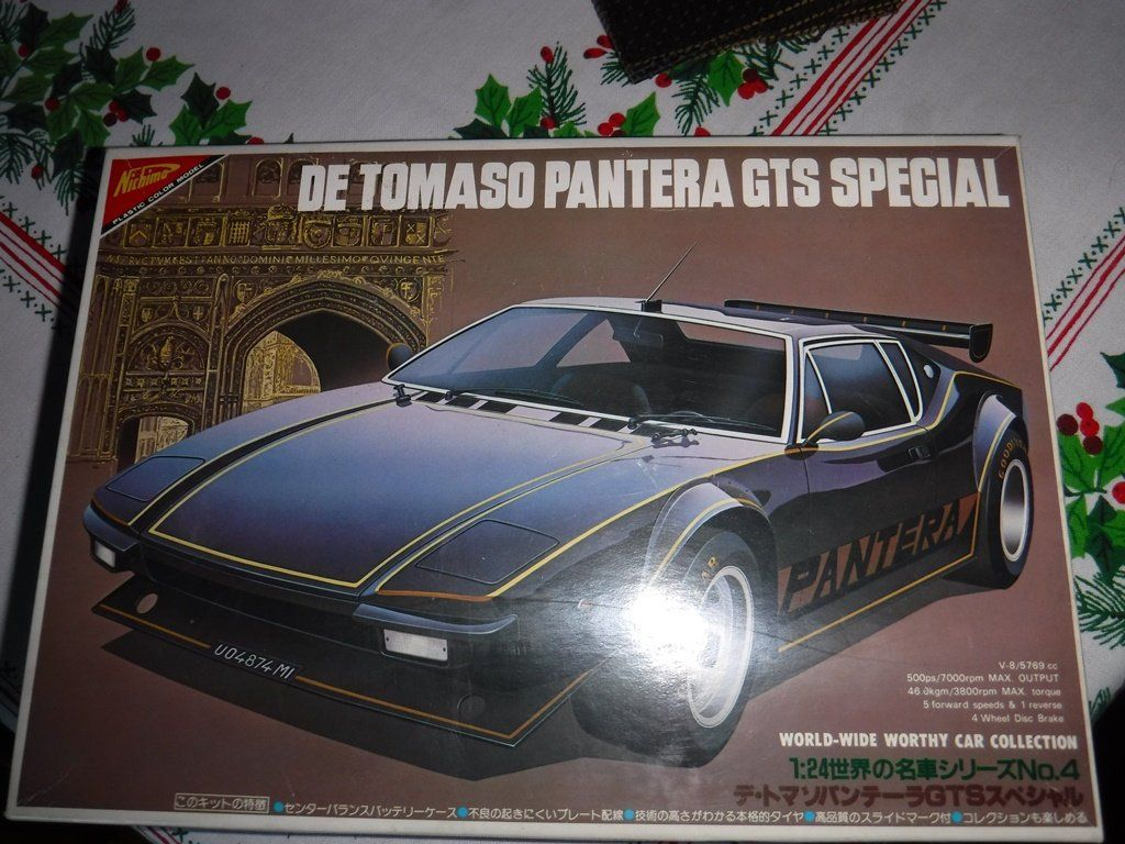 Nichimo Model Kit Ww2404 De Tomaso Pantera 1 24 Gts Special Etsy Pantera Car Pantera Car Collection [ 768 x 1024 Pixel ]