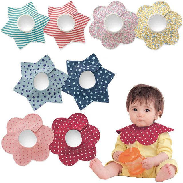 New Baby Accessaries Cotton Baby Bibs For Infant Toddler Baby Kids Girl Boy 360 degree Round Neck Burp Cloths