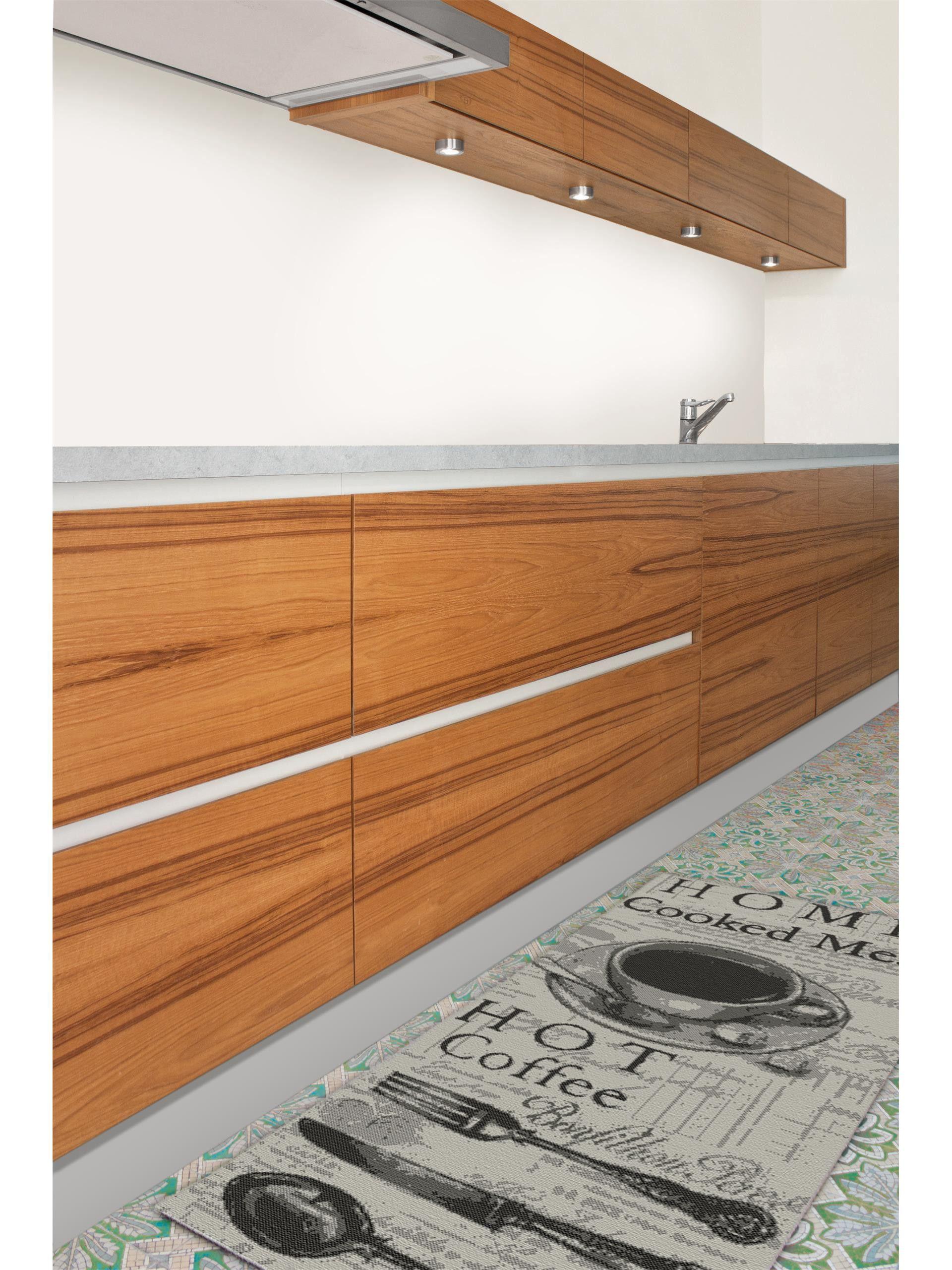 Küchenläufer Coffee Grau | Pinterest | Teppich küche, Küchenteppich ...
