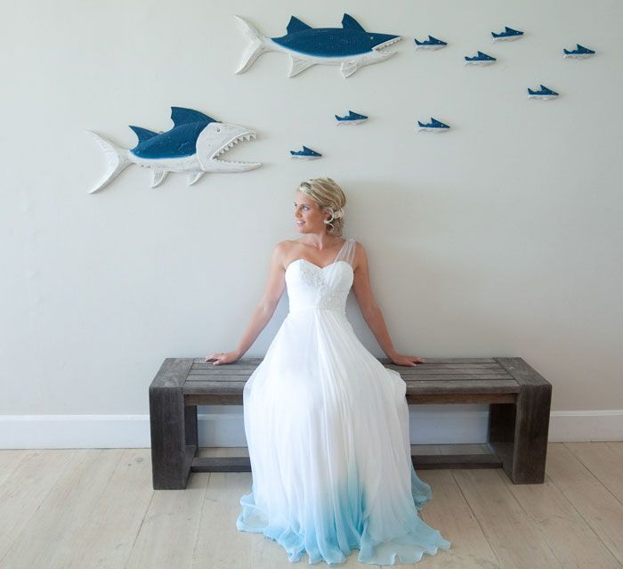 Dip Dye Wedding Dress Trend Will Make Your Big Day More Colorful ...