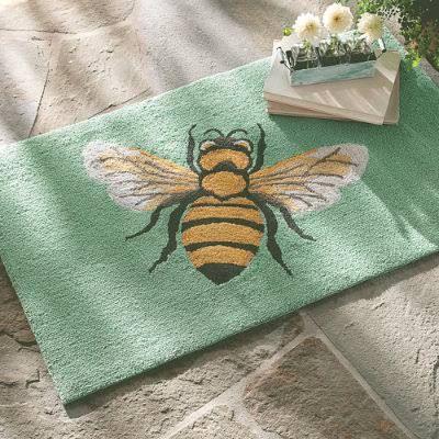 Bumble Bee Doormat Google Search Outdoor Mat Outdoor Rugs