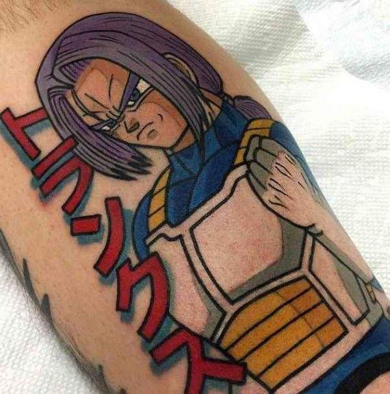 Les Plus Beaux Tatouages Dragon Ball Tatouages Pinterest