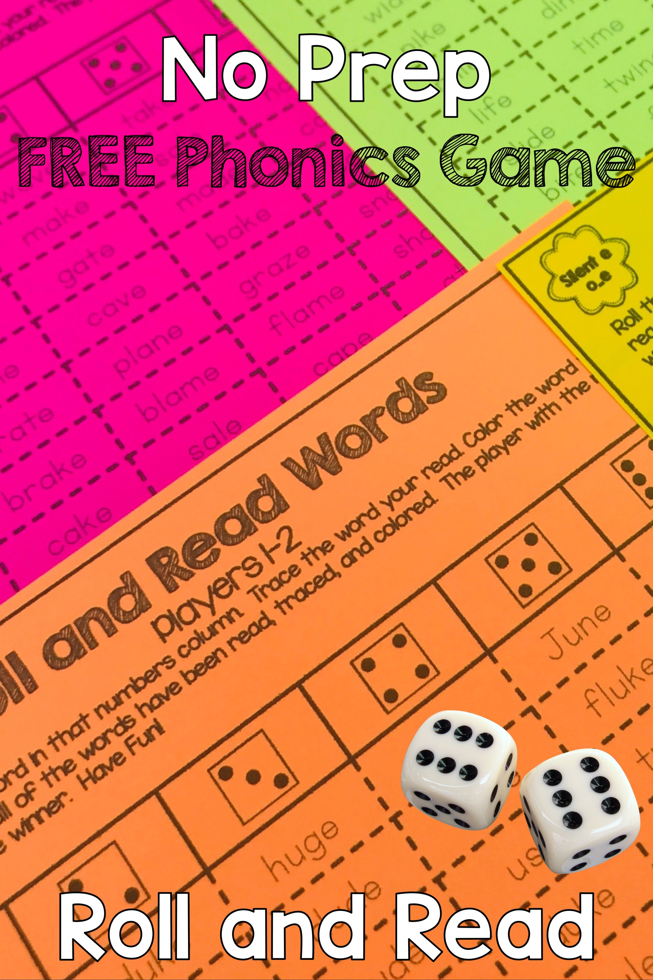 Engage Your Students With This Free Phonics Roll And Read