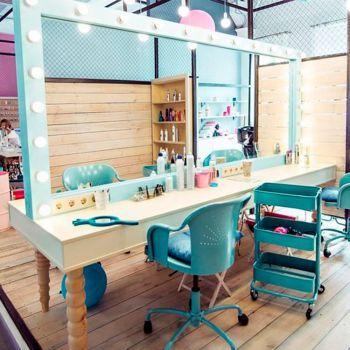 Рабочее место парикмахера BIG WHITE, 110х250 см | Decoración para ...