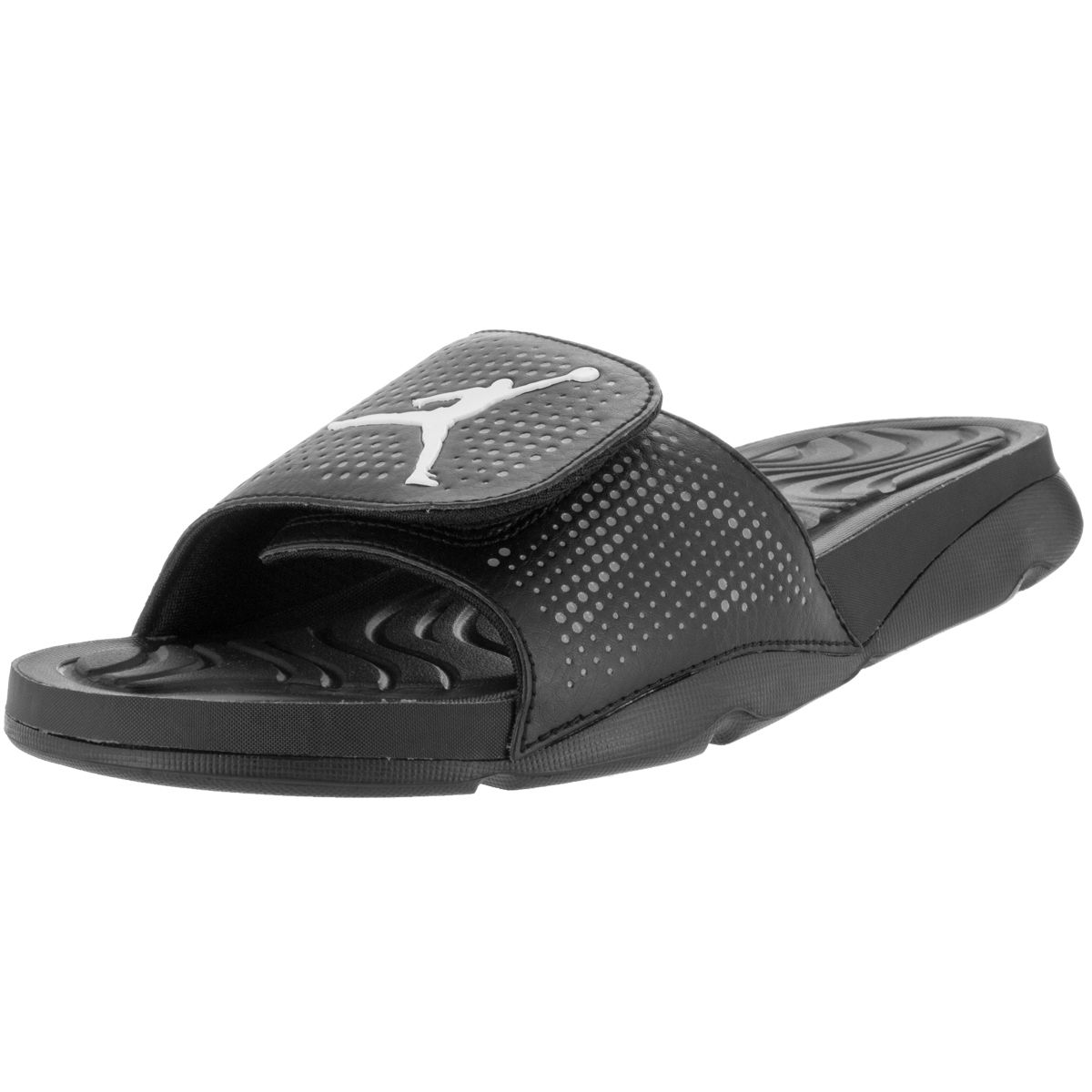 Air Jordan Hydro 5 Slide Sandals Mens Black White Cool Grey Cheap Price