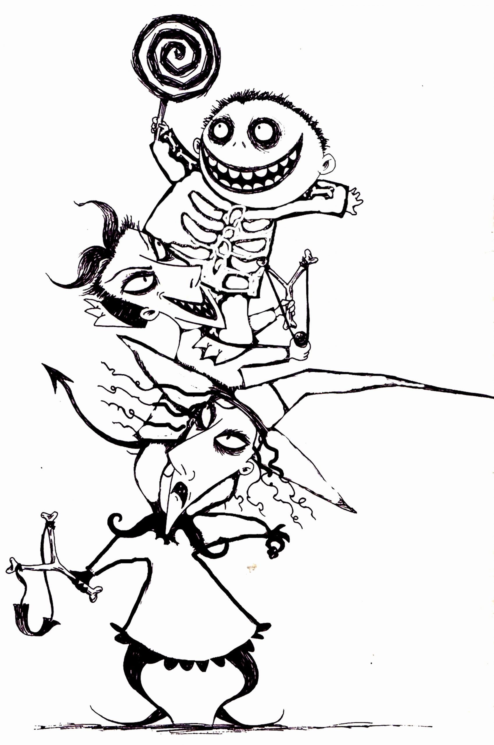 Jack Skellington Coloring Page Lovely Free Printabl In 2020 Nightmare Before Christmas Tattoo Nightmare Before Christmas Characters Nightmare Before Christmas Drawings