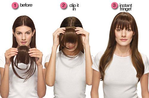 Have You Ever Thought About What You Would Look Like With Bangs But Are Too Afraid To Take The Plunge Becau Long Hair Styles Hairstyles With Bangs Hair Styles