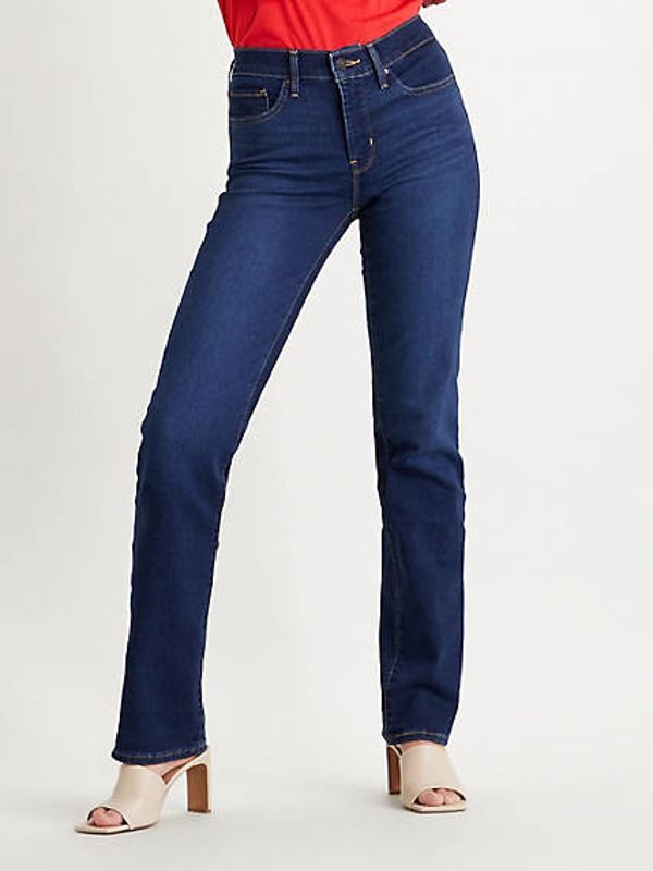 314™ Shaping Straight Jeans - Black