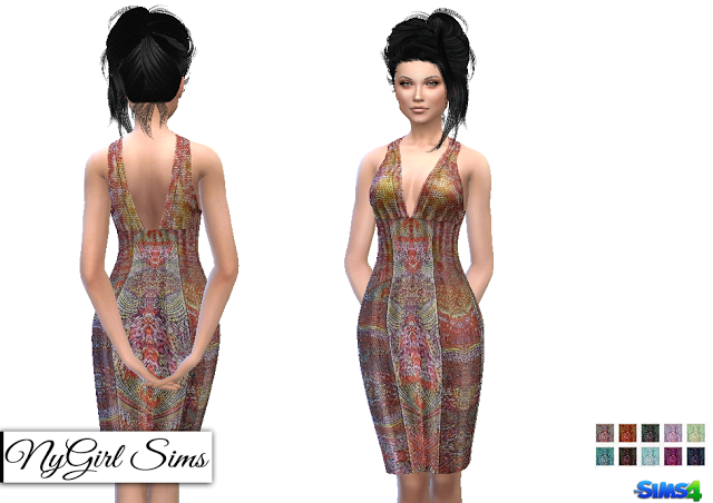 Sims 4 CC's - The Best: Dresses by NyGirlSims