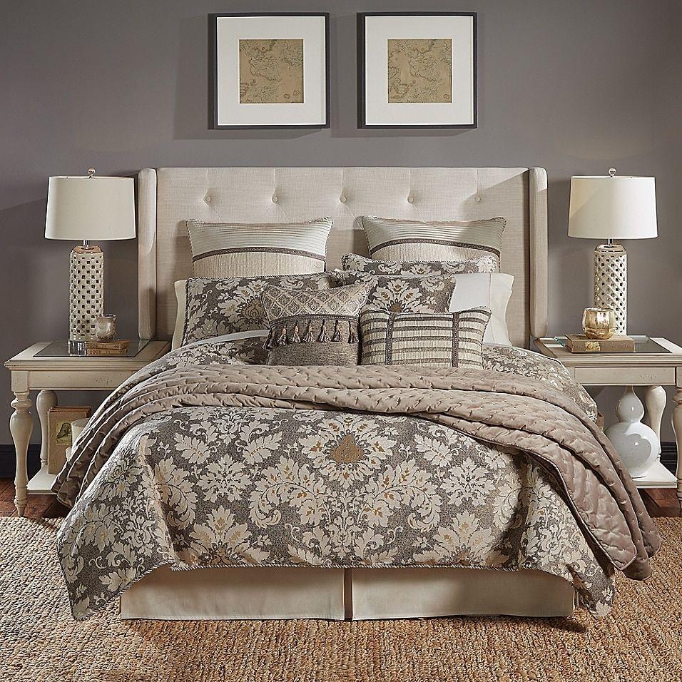 Croscill Nerissa Comforter Set Bed Bath Beyond In 2021 Comforter Sets Bedding Sets Master Bedroom Bedding Sets