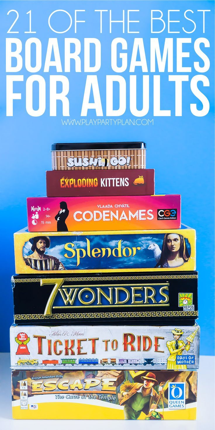 21 Board Games for Adults to Rock Your Game Night Fun