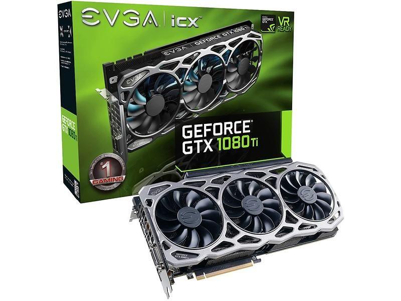 Best pris på EVGA GeForce GTX 1080 Ti FTW3 Gaming HDMI 3xDP 11GB Skjermkort (PCI Express) - Sammenlign priser hos Prisjakt