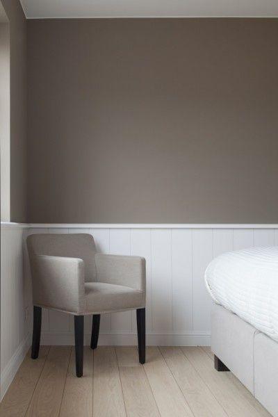 Taupe muurverf - woonkamer | Pinterest - Taupe, Slaapkamer en Interieur