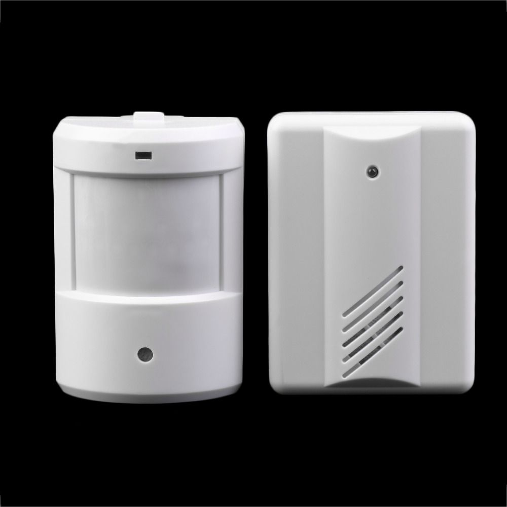 New Driveway Patrol Garage Infrared Wireless Doorbell Alarm System Motion S Home Security Alarm Wireless Home Security Systems