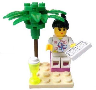 DIY Building Blocks Toys Girl Reading Green Tree 10pcs/set Enlighten Train Brick Toys