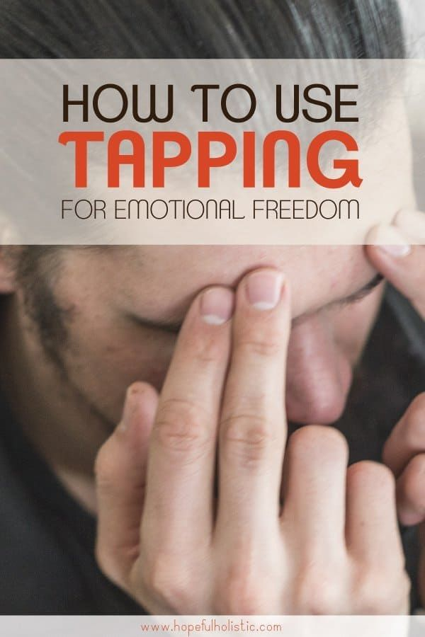 Learn how to use EFT (emotional freedom technique) tapping as a healing therapy to help with anxiety, pain relief, weight loss, tapping for kids, and more. In this intro to tapping for beginners, you'll find some sample EFT scripts and tapping videos you can follow along with to find emotional freedom in many areas of life. #naturalremedies #tapping #holistichealth