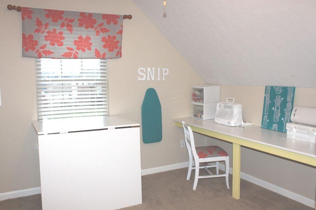 Attic Craft Room Diy Projects