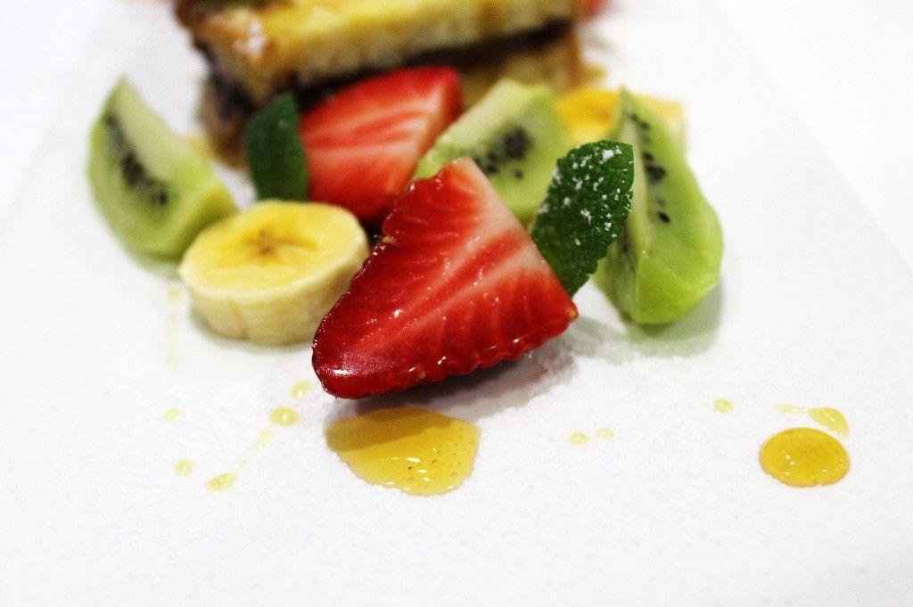 tostadas francesas de #nutella con frutas frescas y sirope