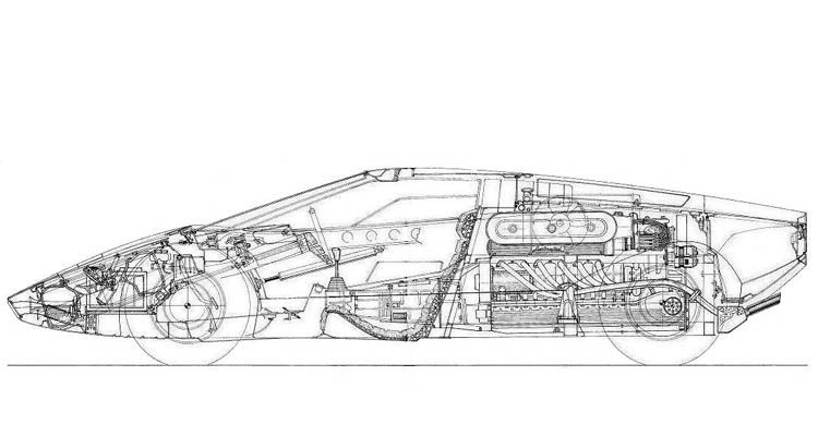 porsche boxster package drawing - Google Search   Project - Alfa 2C ...