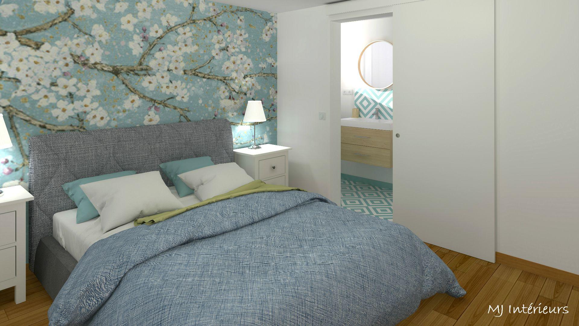 Rénovation d\'une maison à Saint-Georges de Didonne : la chambre d ...