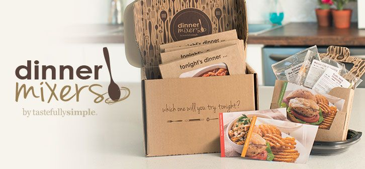 Dinner Mixers. Great for empty nesters or family's on the go.   Independent consultant, To order: www.tastefullysimple.com/web/ssawmiller