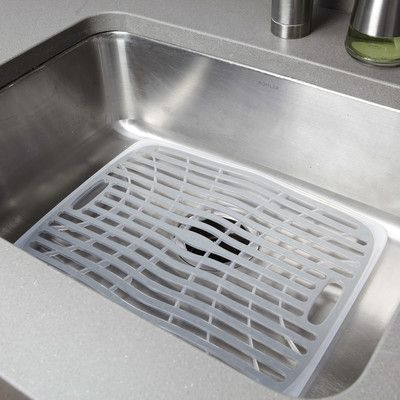 Oxo Good Grips Small Sink Mat Size Sink Mats Kitchen Sink