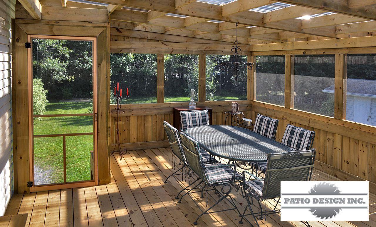 Gazébo ou pavillon | patio | Patio roof, Outdoor awnings et Screened porch designs