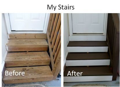 Renewing Boring Garage Steps