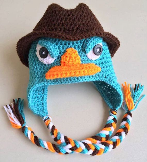 Perry Perry The Platypus Crochet Perry Crochet By Handmadebydz