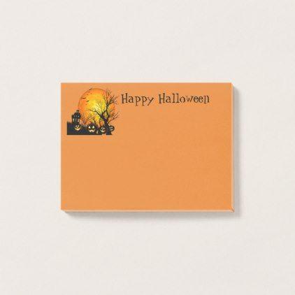 #Halloween Post-it-Notes Post-it Notes - #Halloween #happyhalloween #festival #party #holiday
