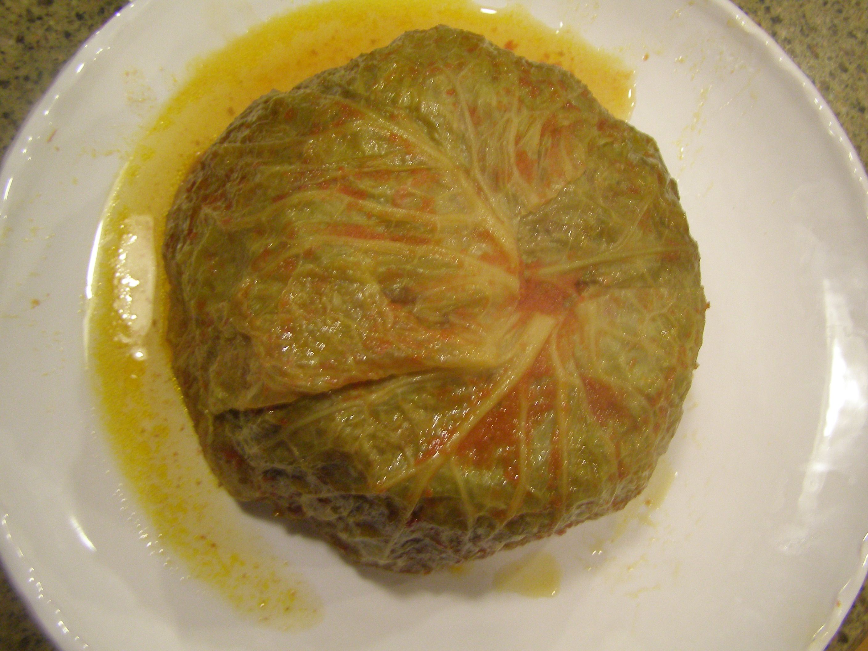 Chou farci stuffed whole cabbage french cooking pinterest food forumfinder Gallery