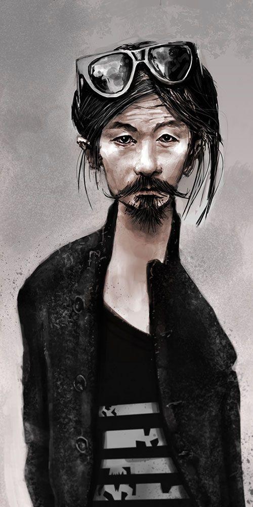 Digital portrait by tomasoverbai.deviantart.com on @deviantART
