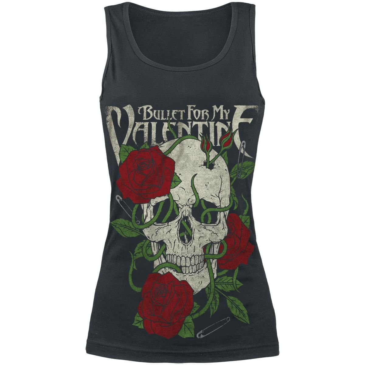 Rose Roots - Girls Top by Bullet For My Valentine - Article Number: 256764 - from 14.99 £ - EMP Mail Order UK Ltd. ::: The Heavy Metal Mailorder ::: Merchandise, Shirts and more!
